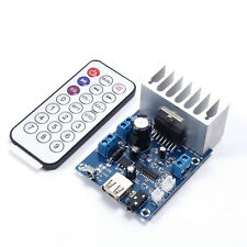 15W+15W Channel Audio TDA7297 Amplifier Board DC 6-12V Module With MP3 For TF/SD