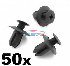 50x 8mm Plastic Trim Clips- Same as Mazda B09251833, Wheel arch & Sill Moulding
