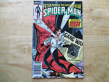1985 PETER PARKER SPIDER-MAN 105 SIGNED 2X LUKE MCDONNELL & PETER DAVID WITH POA