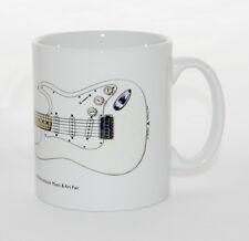 Guitar Mug. Jimi Hendrix's Fender Stratocaster from Woodstock 1969.