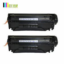 2PK New Q2612A 12A Toner Cartridge For Hp Laserjet 1018 1012 1010 1020 1022 3015