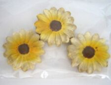 Dollhouse Miniature 3 Daisy-Shaped Stepping Stones - Great for Fairy Gardens!