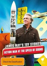 James May's Toy Stories - Action Man at Speed of Sound -  Documentary NEW R4 DVD