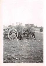 Franz. Geschütz erbeutet bei Cambrai Frankreich