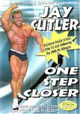 JAY CUTLER ONE STEP CLOSER Bodybuilding DVD! 2005 Mr Olympia Prep! IFBB NPC BEEF