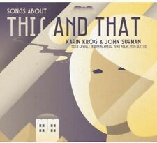 Songs About This & That - Karin & John Surman Krog (2014, CD NIEUW)