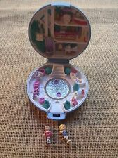 Vintage Polly Pocket Bluebird 1989 Ice Skating Party Compact Complete E1