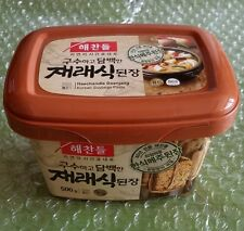 Korean Food Sauces Korean Miso Korean Soy Bean Paste Doenjang 500g Haechandle