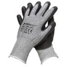 12 pr Polyethylene gloves PSG12254 Hppe Knit Gloves Cut Resistant Rubber Palm XL