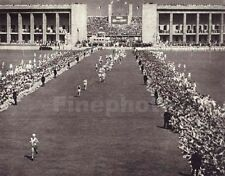 1936 Print Germany OLYMPICS MARATHON Runner Argentina Photo Art LENI RIEFENSTAHL