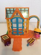 Dora the Explorer Talking Greenhouse Wheelbarrow, Garden Planter, Dora with hat