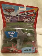 New Disney Pixar Cars Diecast Race O Rama Mega size Marco Fighter Jet #2