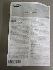 SAMSUNG SERIES 5 5003 LED TV USER MANUAL NEW