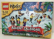 Pirates LEGO 6299 Advent Calendar 2009 New Sealed Pieces Open Box