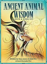 NEW Ancient Animal Wisdom Oracle Cards Deck Stacy James Jada Fire