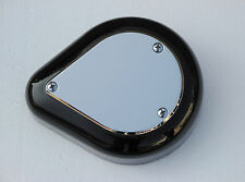 CHROME S&S AIR CLEANER COVER INSERT E & G SERIES HARLEY US MADE