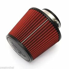 "Filter K&N Car High Flow Cleaner Cone Cold Air Intake 160 mm Height 3"" 76mm"