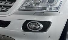 Mercedes W164 ML Oval Chrome fog light frames to 07/2008