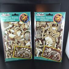 Dinosaur puzzle stickers 2 Pack