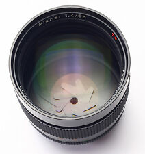 Carl Zeiss Planar 85mm f/1.4 in excellent condition Contax C/Y mount MMJ