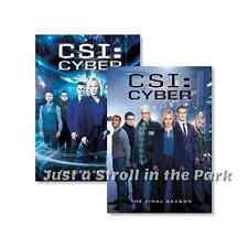 CSI: Cyber - Complete TV Series Seasons 1 & 2 Box / DVD Set(s) NEW!