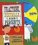 Fractions, Decimals, and Percents by David A. Adler (2010, Hardcover)