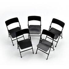 """5pcs 1/6 Scale Action Figure Folding Chair 7"""" for Hot Toy the Ultimate Soldier"""