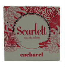 SCARLETT CACHARELE 80ML EDT SPRAY NEW IN SEALED BOX (DISCONTINUED)