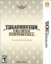 NEW Theatrhythm Final Fantasy Curtain Call: Collector's Edition [Nintendo 3DS]