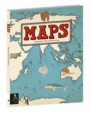 Maps by Daniel Mizielinski and Aleksandra Mizielinska (2013, Picture Book)