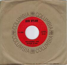 BOB DYLAN  Watching The River Flow / Spanish Is The  Loving Tongue  45 from 1971