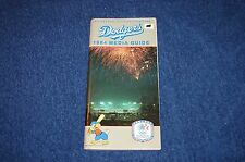 LOS ANGELES DODGERS 1984 MEDIA GUIDE (WB815)
