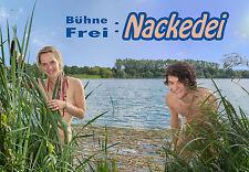 FKK Buch - Bühne Frei: Nackedei - FKK Fotobuch Bildband - 128 Seiten - 2015