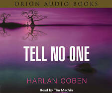 Tell No One by Harlan Coben (CD-Audio, 2003) AUDIOBOOK CD 6CDS