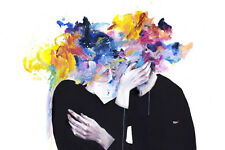 Agnes Cecile 'Intimacy on Display' print + Whatson, Lora Zombie or Banksy pin