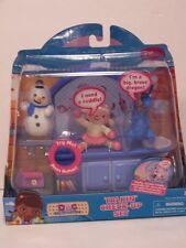 NIB Disney Doc McStuffins Talking Check Up Set Interactive Lambie Stuffy Chilly