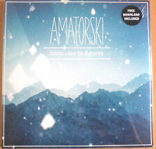 "NEU OVP 2 x 12"" VINYL LP AMATORSKI From Clay To Figures + Free MP3 Download"
