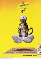 PUBLICITE ADVERTISING 115 2001 Schweppes Light