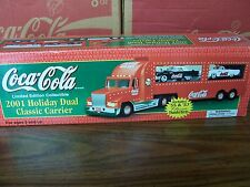Coca ' Cola Truck 2001,  Holiday Dual Classic Carrier, also 55 & 57 Thunderbirds