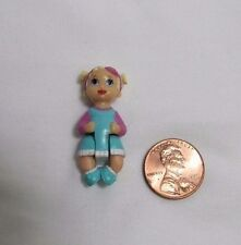 FISHER PRICE Sweet Streets Dollhouse BABY GIRL INFANT FAMILY HOSPITAL 1 3/8""