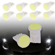 10x Super Bright White Car 1 LED COB SMD T10 W5W Wedge Side Light Bulb Lamp 12V