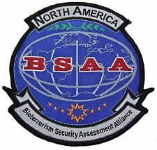 Resident Evil: North America BSAA Logo Iron-on/Sew-on Embroidered PATCH