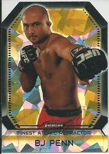 BJ Penn 2011 Topps Finest UFC Atomic Refractors Card # FAR18
