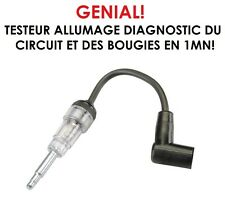 GENIAL! TESTEUR CIRCUIT ALLUMAGE+BOUGIES TROUVEZ LA PANNE EN 2MN! RARE ET UTILE