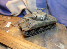 Warlord Games Bolt Action WW2 28mm 1/56 American Allied Sherman Tank x1 Painted.