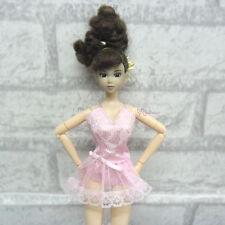 Blythe Obitsu Momoko Bjd Lingerie Outfit Sexy Top Dress + Underwear + Socks PINK