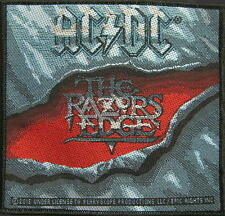 "AC/DC AUFNÄHER / PATCH # 65 ""THE RAZORS EDGE"""