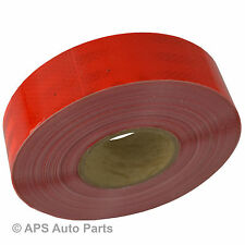 Conspicuity Red Tape Diamond Reflective 50mm x 1m Truck Lorry Van Bus Trailer