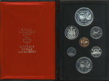 CANADA Double Dollar Proof Set 1974 in Original Case Winnipeg Silver Dollar