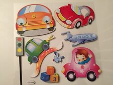 Wall Stickers Paper 3D Removable Car Art Decor Kids Room/ Decals for boy & girl